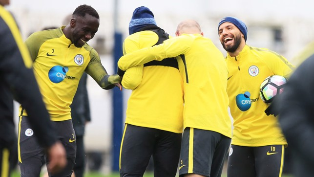 BEAR HUG: Who wouldn't want a hug from Zaba?