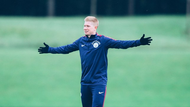KEVIN DE BRRRRUYNE: A well-wrapped up KDB!