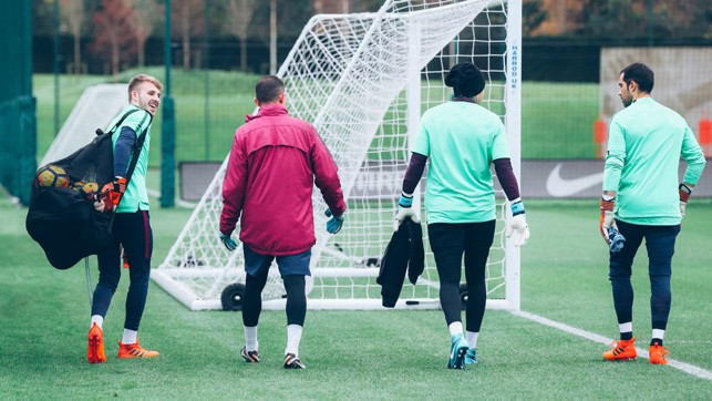 GOALKEEPERS UNION: The shot-stoppers assemble