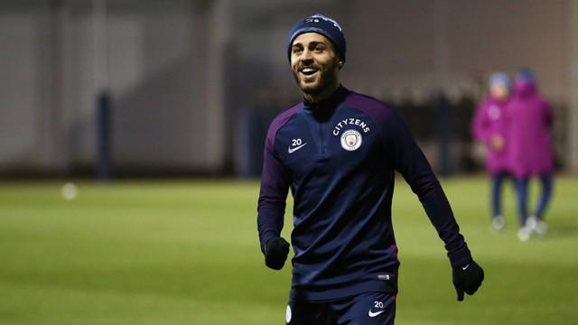 SMILEY SILVA: Bernardo smiles for the camera
