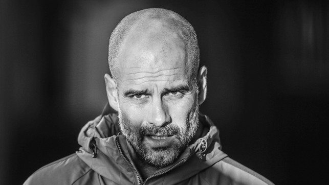 BOSS MAN: Pep ready to take the final session before the big game