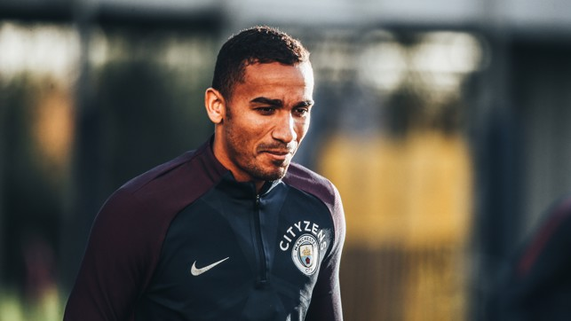FOCUSED: Danilo prepared for battle
