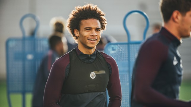 HAIR ALERT: Leroy Sane and his hair in shot