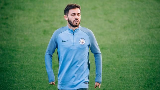 SILVA SERVICE: This man may make his City Champions League debut tomorrow night.