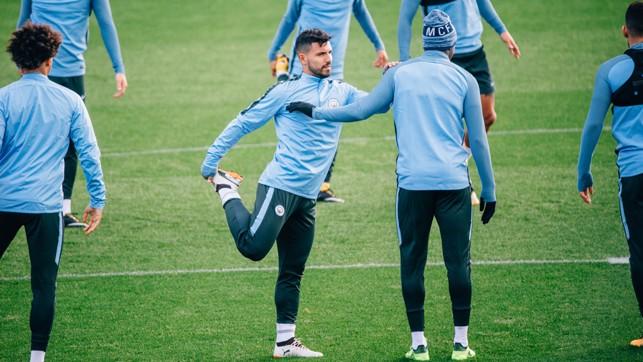 STRETCH: Stay supple, Sergio!