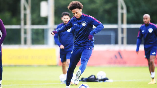 STEP-OVER: Sane hones his skills