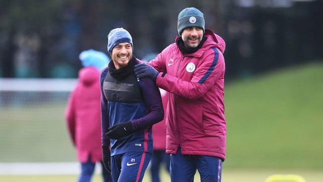 MASTER AND APPRENTICE: Pep and David