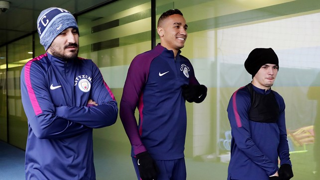 WRAPPED UP: Feeling the cold Gundogan?