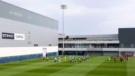 مانشستر سيتي يستعد بقوة للمواجهة الثانية ضد ليفربول.