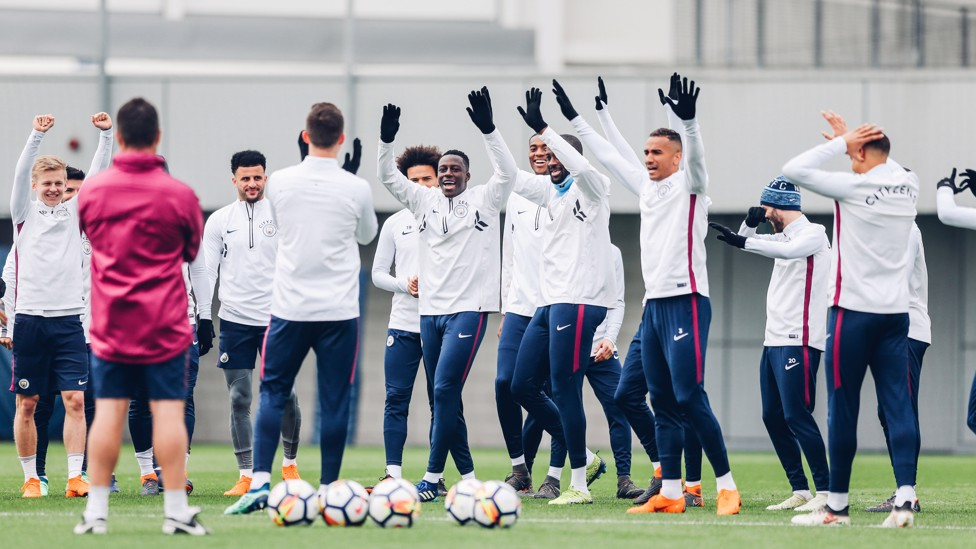 HANDS UP: Who wants to play tomorrow?