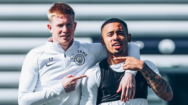 HE'S THE MAN: KDB and Gabriel Jesus' mutual admiration society