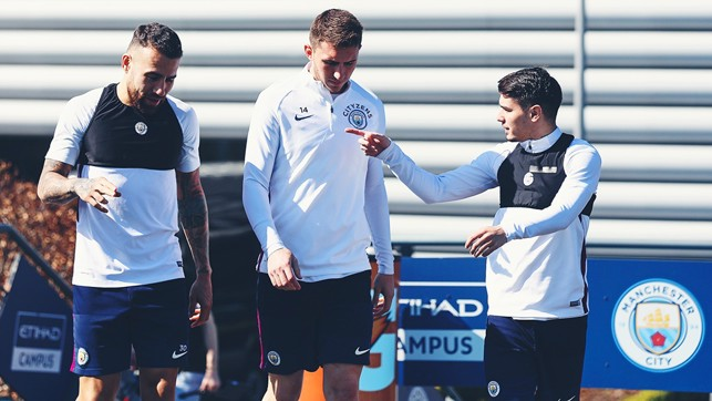 NICO, AYMERIC AND BRAHIM: Walking on sunshine
