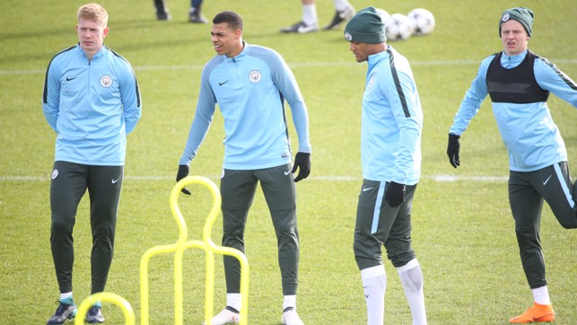 YOUNG BLUE: Lukas Nmecha was named on the bench against Leicester on Saturday