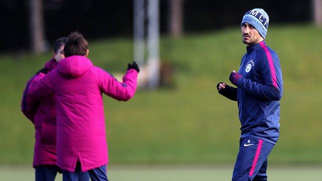 SILKY: Ilkay Gundogan in training