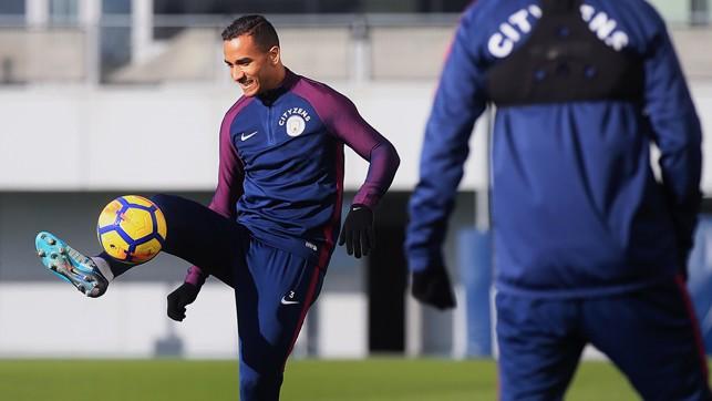 KEEPY UPPY: Steady does it, Danilo