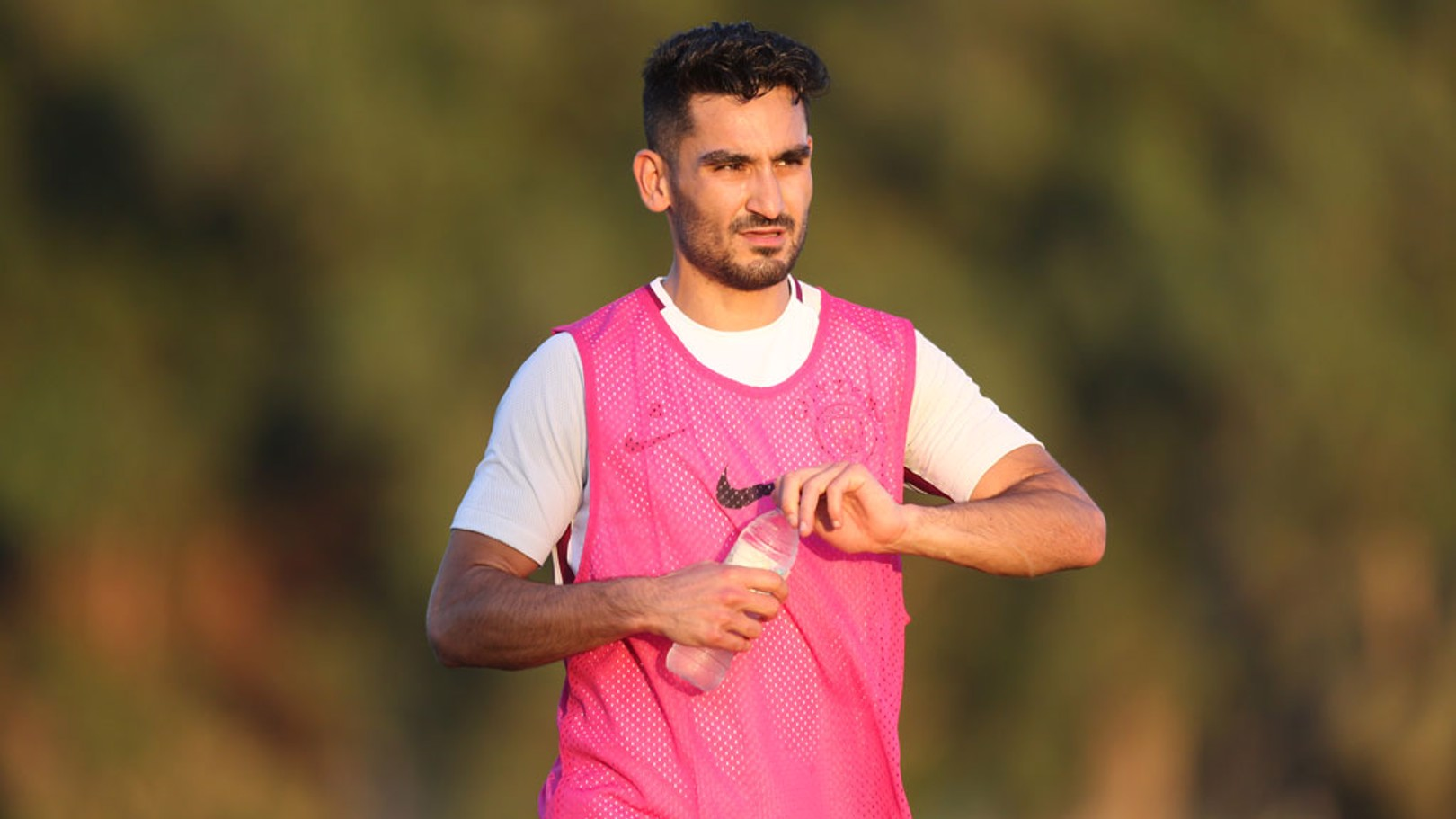 SILKY ILKAY: Gundogan is pleased with his form and fitness