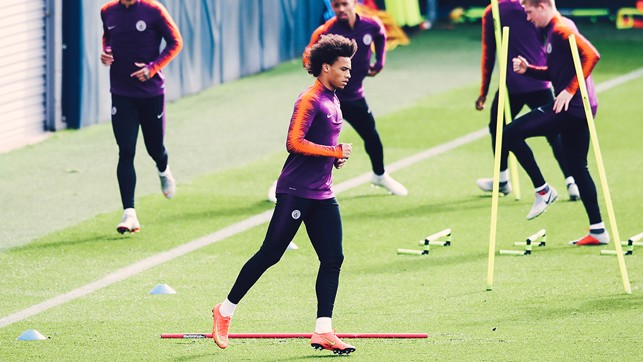 SUPER SANE: Leroy Sane will be looking to continue his recent fine form, in his home country