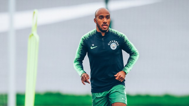 DELPH: Back on the training pitch!