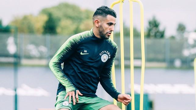 RIYAD: Mahrez looks in fine form.