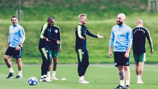 DOUBLE TROUBLE: Wondering what's happening between Fernandinho and Zinchenko!?