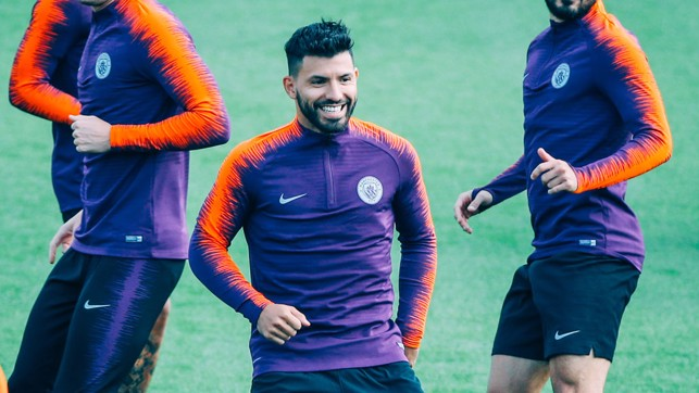 SERGIO: Good to see this guy in training today!