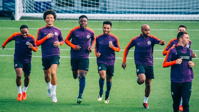 RUN: A mixture of first team and academy players.