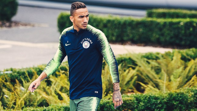 FOCUS: Danilo gets ready to get down to work