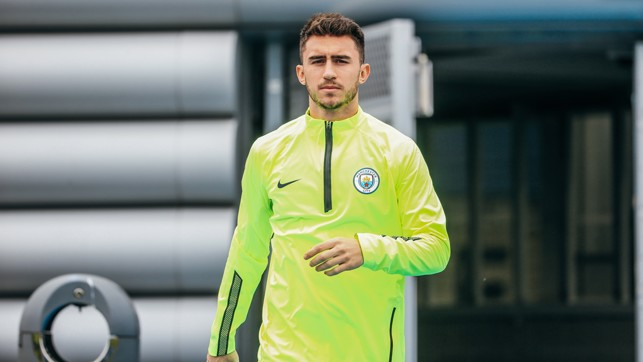 ACE-MERIC LAPORTE: Our French centre-back, raring to go