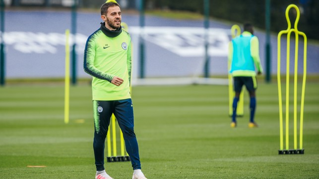 READY TO RETURN?: Pep Guardiola says he will assess Bernardo's fitness over the weekend