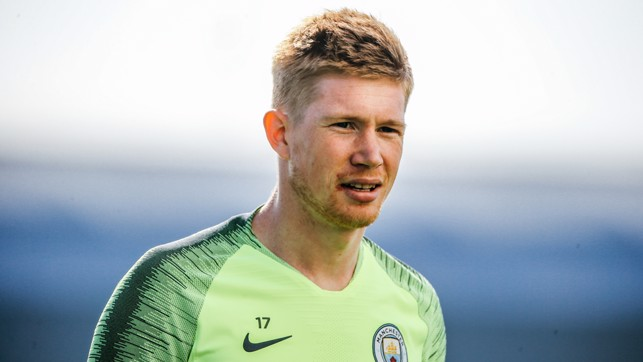 MIDFIELD MAESTRO: Kevin De Bruyne claimed three assists in the midweek Champions League win over Spurs