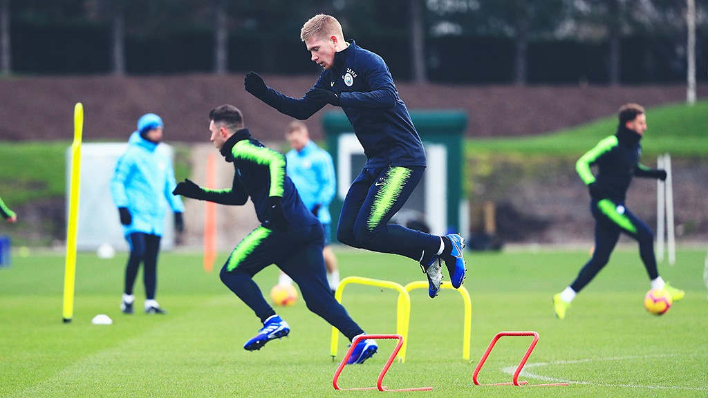 HOW HIGH: Jumping into this weekend's fixture like...