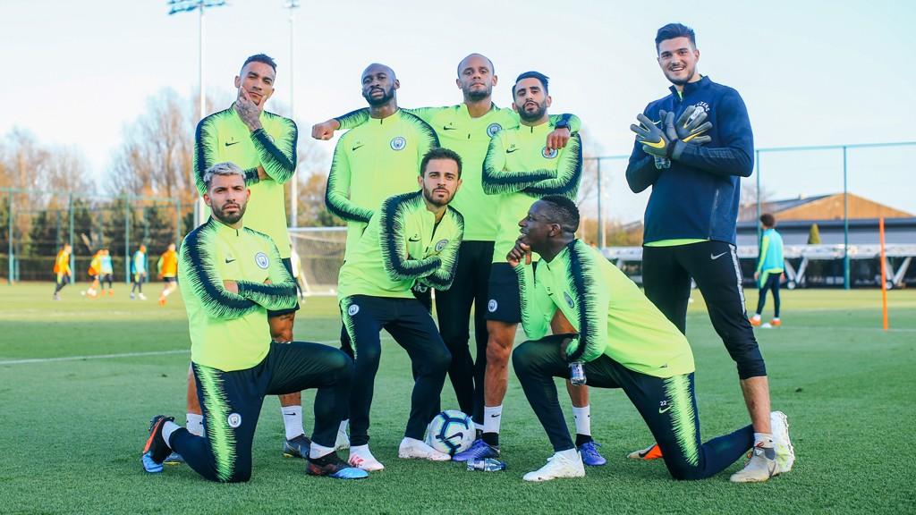 519b9b6aa Internationals return for pre-Fulham training! - Manchester City FC