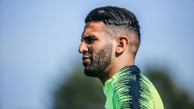 RIYAD READY: Riyad Mahrez, targeting another magic moment at Wembley?
