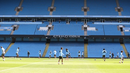 HOME: The Etihad looking as beautiful as ever!