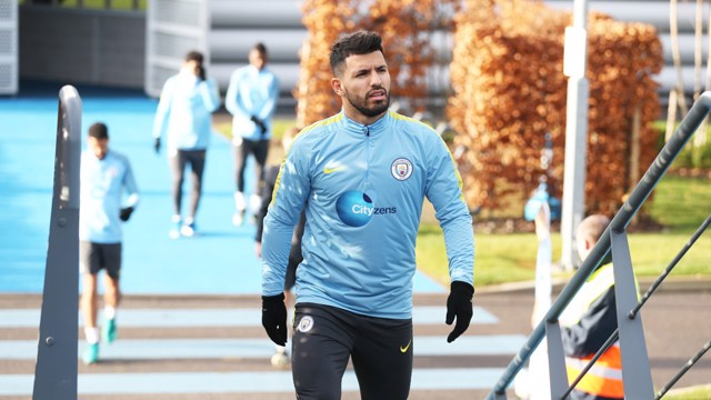 ANFIELD RETURN: Sergio Aguero is available for selection