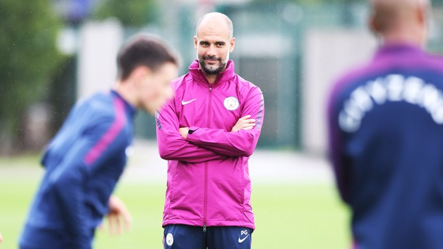 PEP: The boss watching on