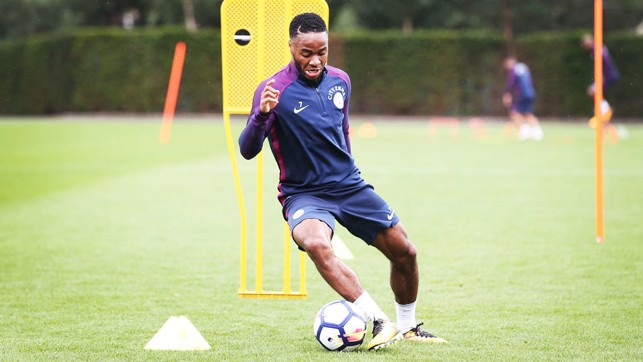 RAZ: Sterling on the ball