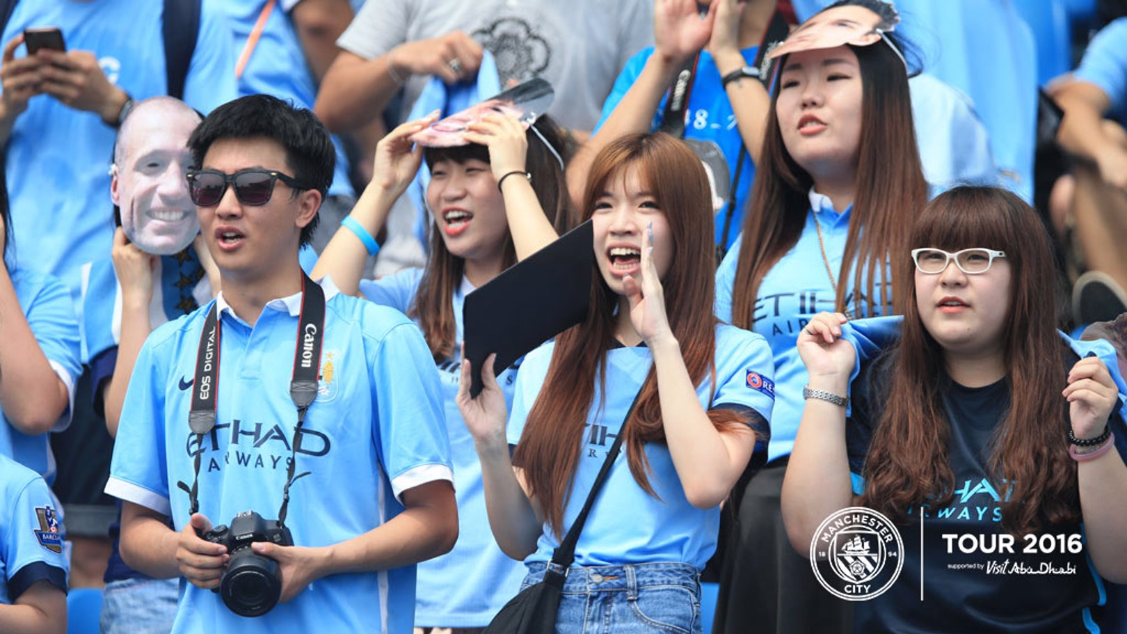 SUPPORT: There were plenty of fans at the Olympic Sports Centre to see their heroes.