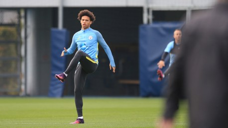 WARMING UP: Sane believes the best is yet to come from the Blues