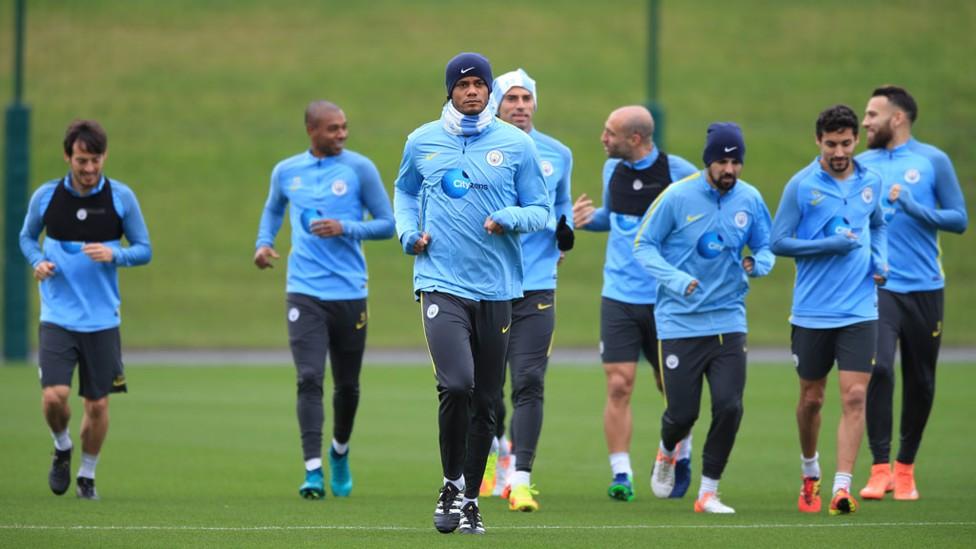 SQUAD: Our players prepare for WBA