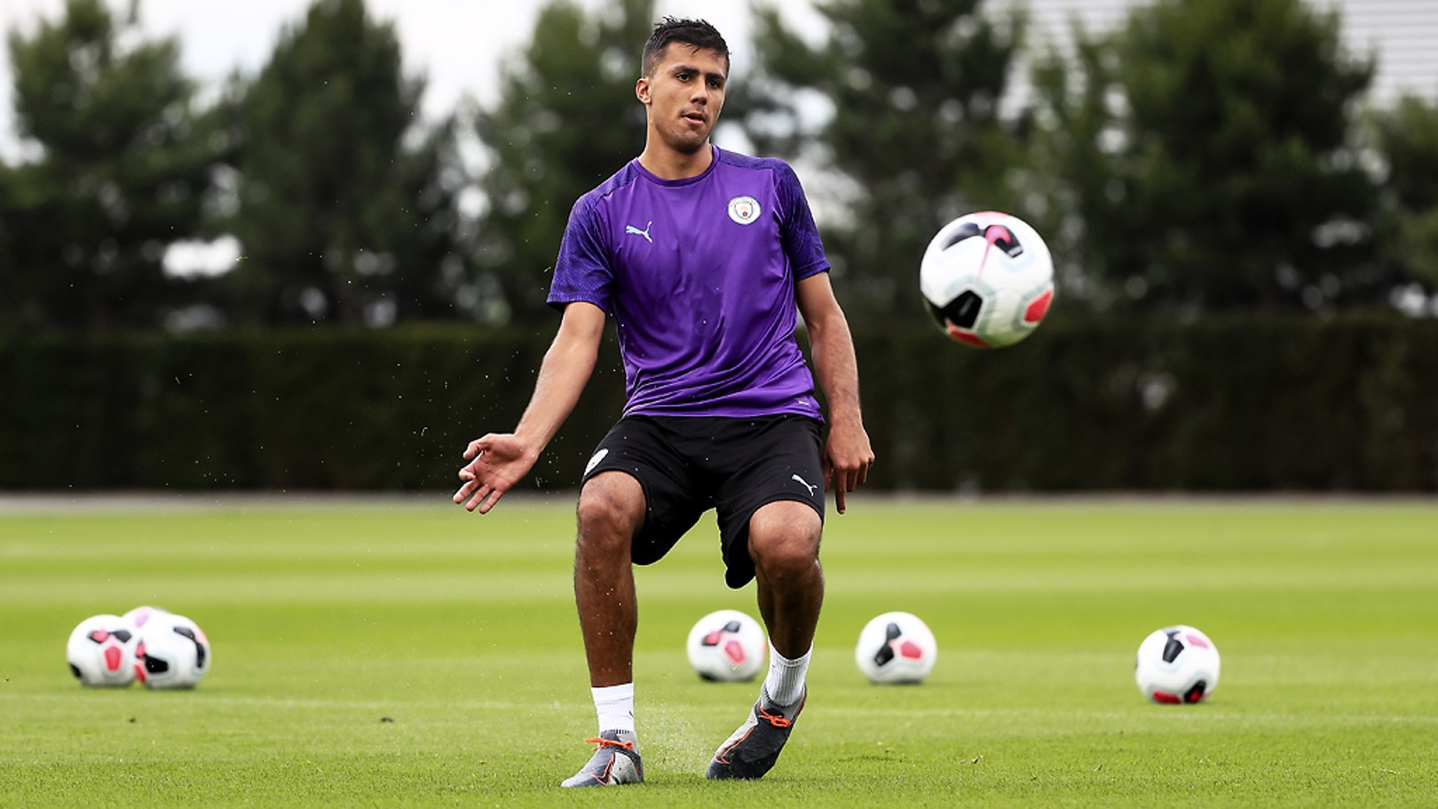 RODRI: Our new signing makes his first City start