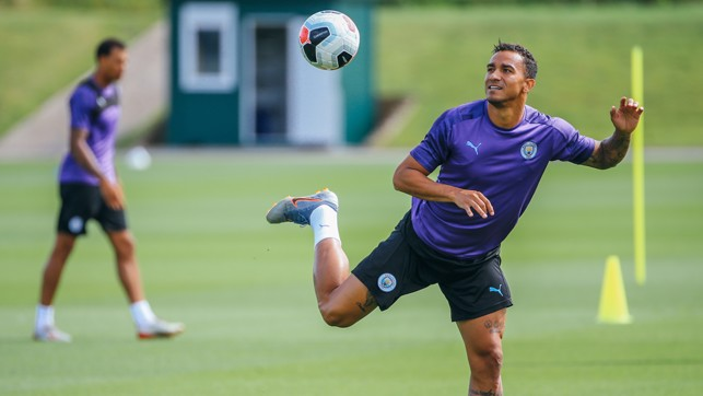EYES ON THE BALL: Silky skills from Danilo