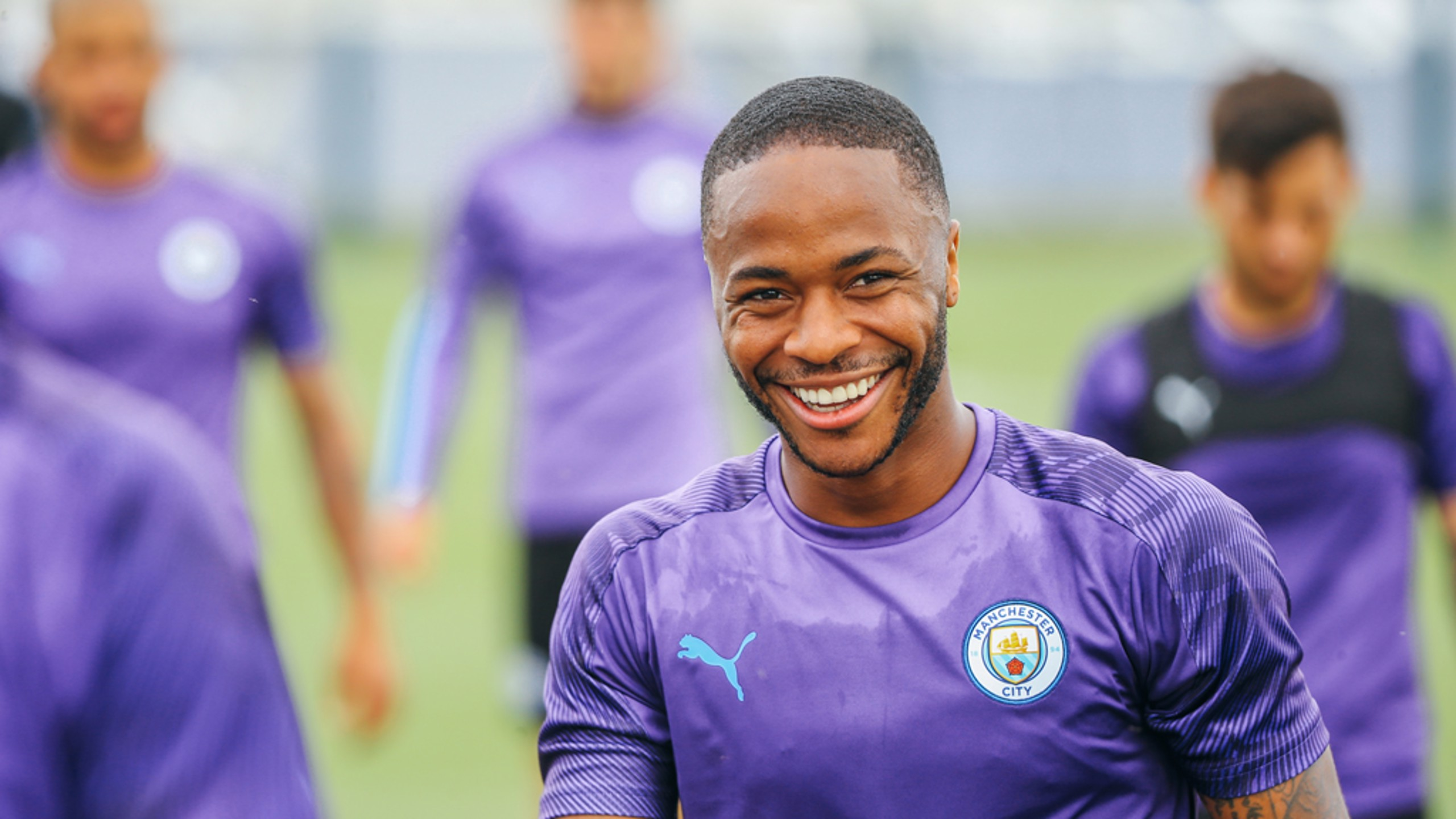PURPLE PATCH: Raheem Sterling bagged four goals in pre-season!