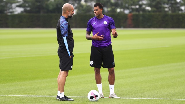TUESDAY TUNE UP: Lukas Nmecha talks training with manager Pep Guardiola