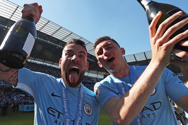 Match Gallery  Trophy lift celebrations - Manchester City FC 0c40baffe