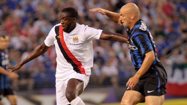 TOURE ON TOUR: Yaya in Baltimore in 2010