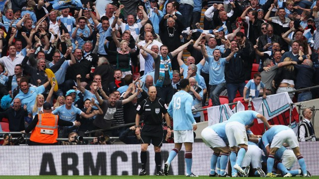 FANS' FAVOURITE: Toure has brought many moments to cheer for the City faithful