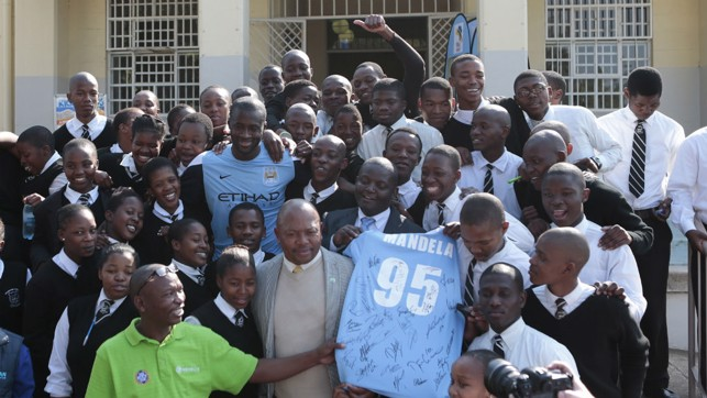 COMMUNITY MAN: Toure in Africa in 2013