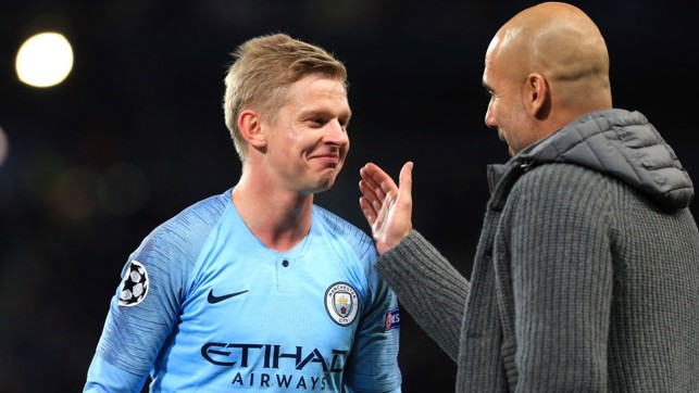 THE BOSS: A player Pep Guardiola enjoys working with.