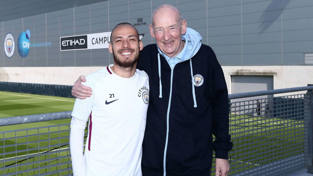 CLOSE BOND: David Silva and Bernard